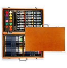 Deluxe Wooden Art Set 88pc.  Great idea for budding artists!