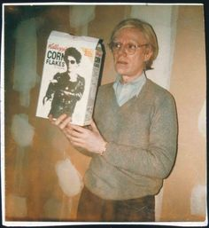 Kellogg's Corn Flakes art project featuring David Byrne, Debbie Harry, Andy Warhol and Lou Reed Andy Warhol, Pop Art, Pittsburgh, Wow Photo, Corn Flakes, Collage, Cultura Pop, Popular Culture, American Artists
