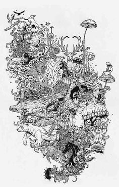 Growth is a personal piece by Kerby Rosanes, an amazing illustrator from Philippines