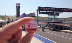 Scott Ingram is sharing his flair at the Circuit of the Americas track in Austin, Texas.
