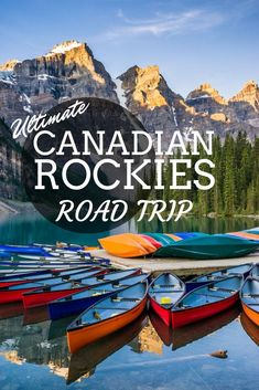 Canadian Rockies Road Trip - Vancouver to Banff and Back // Find Inspiration, Bucket List Ideas, Travel Bucket List Things To Do, Taken Film, Quebec, Toronto, Alberta Canada, Road Trip Vancouver, Calgary, Ontario, Canada Destinations, Honeymoon Destinations