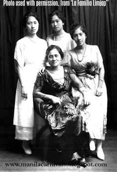 LEONARDA LIMJAP, the first 'Reina del Oriente' of the 1908 Manila Carnival, abdicated her throne in favor of a family trip to Japan. Filipiniana, Carnivals, Manila, Japan Travel, Family Travel, Carnavals, Family Trips, Carnival, Family Destinations