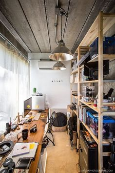 Home Office Setup, Home Office Design, House Design, Workspace Inspiration, Room Inspiration, Interior Architecture, Interior Design, Gaming Room Setup, Studio Room