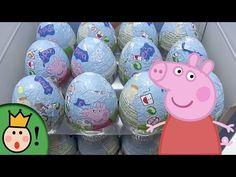 36 Huevos Sorpresa Peppa Pig (I). 36 Peppa Pig Surprise Eggs Unboxing (I) - YouTube