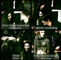Motionless In White funny interview