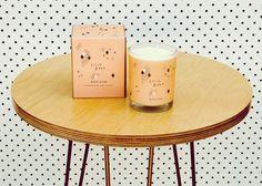 soy wax candle 'epice doux' glass votive  gift box a by bonlux