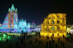 The 30th Harbin International Ice & Snow Sculpture Festival