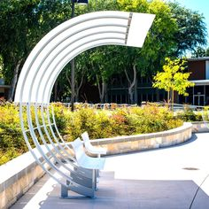trendy public seating street furniture bus stop Corner Seating, Cafe Seating, Public Seating, Garden Seating, Outdoor Seating, Architecture Details, Landscape Architecture, Landscape Design, Urban Furniture