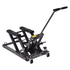 150 kg motorcycle stand lift stand motocross//enduro//trial lifter adjustable height from 33.5 cm to 46 cm.