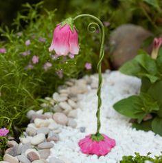 Fairy Garden Lamp|Miniature Fairy Lamp|Fairy Garden Accent
