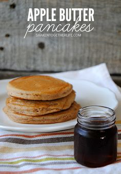 Apple Butter Pancake