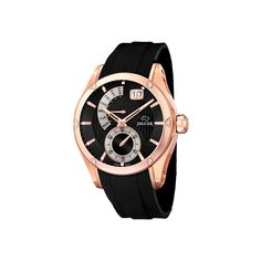Reloj Jaguar de Edición Limitada. Incluye estuche de madera. Con caja de acero inoxidable chapado en oro rosa, correa de caucho y cristal de zafiro ultrarresistente. Es de movimiento Quartz con calendario, con una resistencia al agua de 100 metros y garantía de 24 meses. Ref: J679/1 #Jaguar #Relojes #ModaHombre #JaguarEdicionLimitada #RelojJaguar