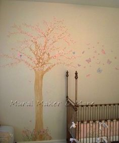 Cherry Blossom Tree Wall Decal Design Ideas, Pictures, Remodel, and Decor - page 12