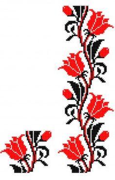 programe de broderie, cu motive florale,  pentru masinile marca BROTHER, HAPPY, RICOMA, TAJIMA, JANOME, BERNINA, ELNA, PFAFF, ZSK, BARUDAN, HUSQVARNA, TOYOTA, SINGER, si multe alte formate; compatibile cu orice masini de brodat de uz casnic, clasa hobby, semi-profesionale sau industriale. Modelele Folk Embroidery, Cross Stitch Embroidery, Cross Stitch Patterns, Sewing Stitches, Sewing Patterns, Stitch 2, Textiles, Floral, Diy