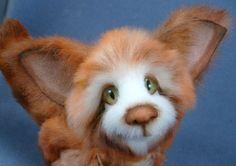 Forest OOAK Kara's Bears Artist Bear Fox 10 in Locline Movement Layaway AV   eBay