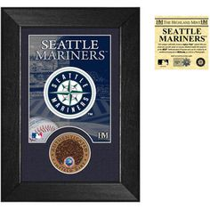 Seattle Mariners Dirt Coin Mini Mint