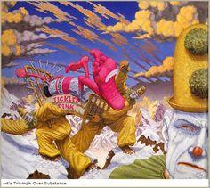 Art's Triumph Over Substance-Robert Williams