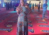Celebrities DJ Cuppy at The Headies 2015 in Iconola Dress.jpg