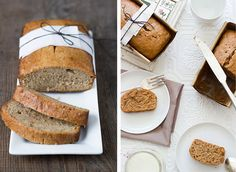 Cinammon honey banana bread
