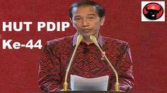 INI dia Pidato Jokowi di HUT PDIP Ke 44, Jokowi Disambut Lebih Meriah Da...