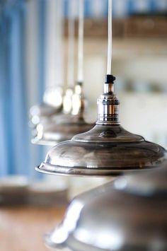Deze klassieker blijft mooi  Rivièra Maison Hanging Lamp Campagne - Hanglamp - Messing - 25 cm