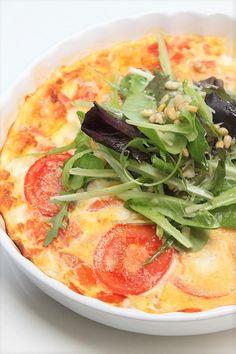 frittata recept met tomaat en mozzarella foodblog Foodinista