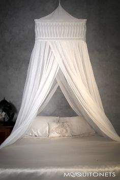 Bed Canopys decorative box cotton mosquito net super king size   king size