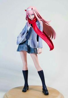 Figure: Zero Two, material: Resin, anime: Darling in the Frankxx, manufacturer: Individual sculptor Otaku Anime, Manga Anime, Anime Art, 3d Figures, Action Figures, Japonese Girl, Figure Poses, Anime Figurines, Anime Toys
