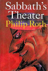 Sabbath's Theater - Philip Roth. I used to read a lot of books on the bus before I started driving to work -- I put this book inside my newspaper and pretended I was reading the paper. I found the book to be both hilarious and deeply embarrassing. Like all of Roth's books, a tour de force, amazing.