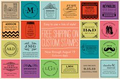 custom stamps papersource