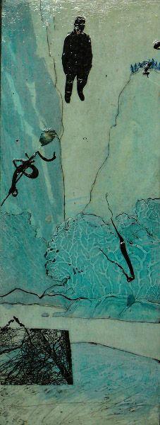 "Alana Farrell ~ ""Floating Di"" (2012)  Artist aka Ayseef | http://ayseef.com/recent-work/"