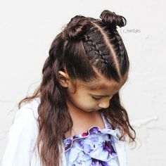 Hairstyles | Hair Ideas | Hairstyles Ideas | Braided Hair | Braided Hairstyles | Braids for Girls | Braids for Little Girls | Toddler Hairstyles | Toddler Hair Ideas | Braids | Updos | Half Up | Ponytails | Dutch Braids | Messy Buns | Buns | Waves | Wavy #MessyHairstylesBraids
