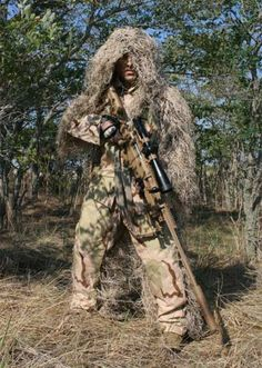 Lightweight Sniper BDU Ghillie Suit