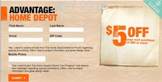 Free Printable Coupons: Home Depot Coupons Home Depot Coupons, Online Coupons, Dollar General Couponing, Coupons For Boyfriend, Coupon Stockpile, Free Printable Coupons, Grocery Coupons, Love Coupons, Extreme Couponing