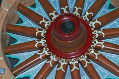circus wagon wheel by Dailyville, via Flickr