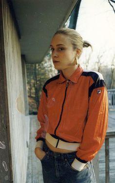 Chloe Sevigny in Fila
