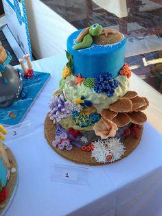 undersea themed cake!