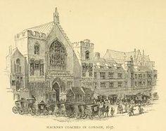 Hackney Coaches in London 1637