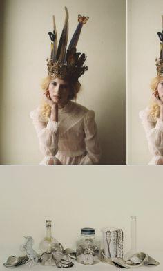 feather crowns & unicorns