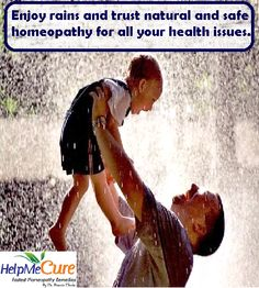 Rainy season comes with many diseases. Trust natural and safe homeopathy for all your health issues...