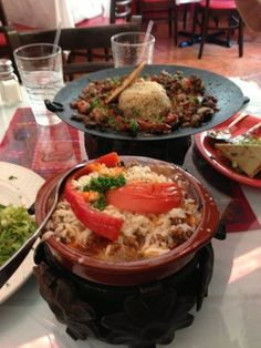 Great & healthy choices at Istambul Turkish Rest. Ottoman Casserole & Mussaka | Yelp