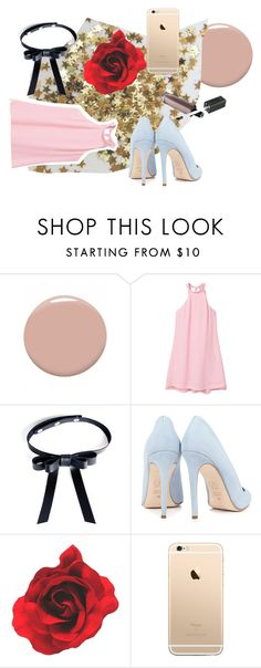 """""""Untitled #808"""" by cashtonlv on Polyvore featuring Christian Louboutin, MANGO and Dee Keller"""