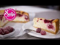 Sallys Rezepte - Himbeer-Käsekuchen mit Knusperboden