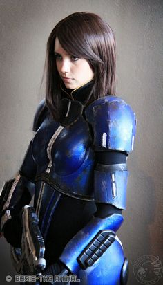 Lieutenant Commander Ashley Williams from Mass Effect | D*Con 2012 #cosplay