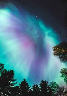 Luces de Norte en Helsinki...