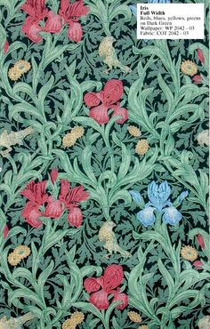 William Morris Iris - WP 2042-3