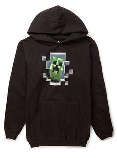 Minecraft ® Creeper Hoody - hoodies & jumpers - older boys (8-16)  - Children