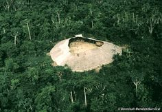 Yanomami Yano (communal house) - located in the rainforests and mountains of northern Brazil and southern Venezuela