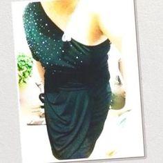 Vince Camuto Dress One Shoulder Party Dress