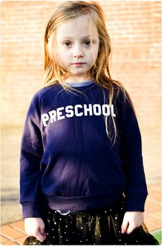Preschool Sweatshirt | Hatch For Kids  Animal House, for kids. Love this!